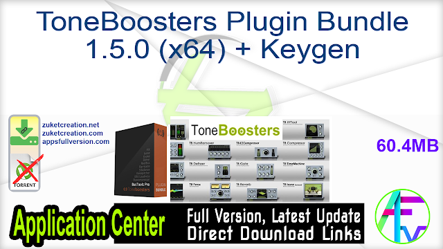 ToneBoosters Plugin Bundle 1.5.0 (x64) + Keygen