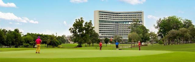 Golf Court of Padang Golf Sukajadi and Radisson Batam