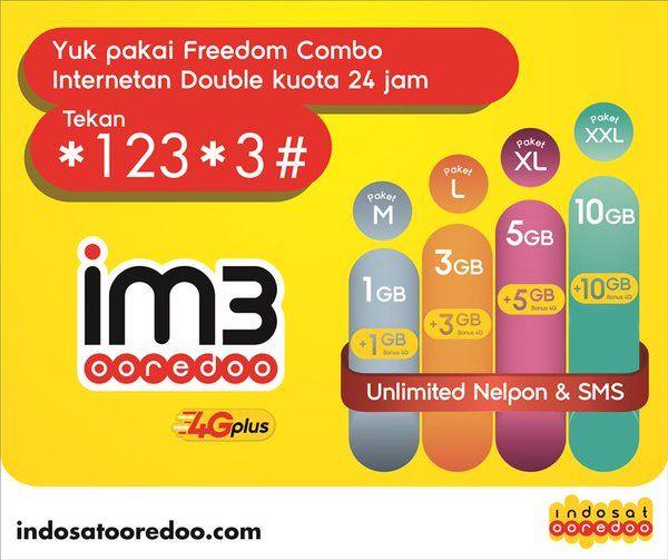 Paket Data Internet Terbaik dan Murah Indosat Ooredoo