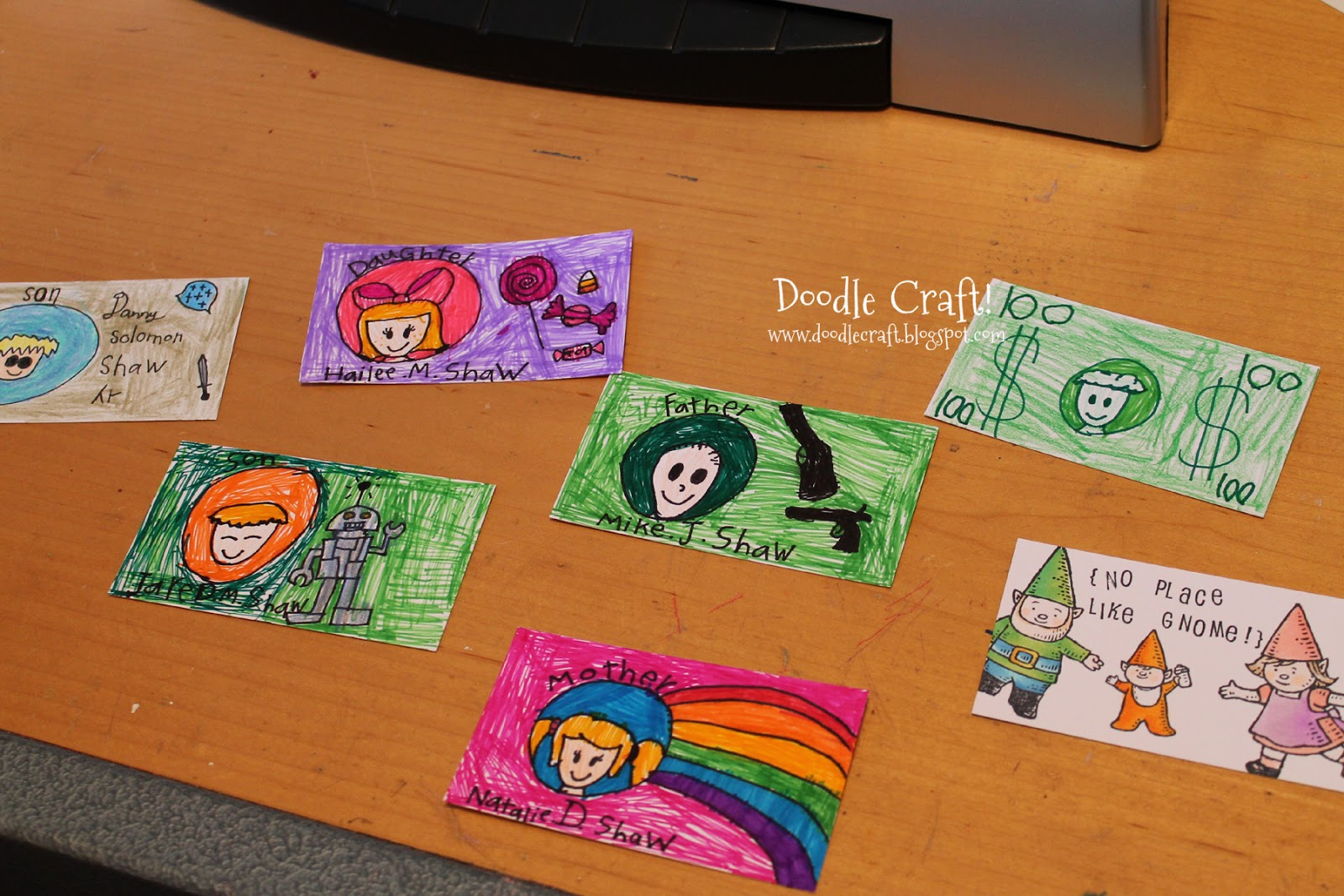 Doodlecraft fake id 39 s and a girls best friend for Making crafts for money