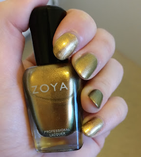 Zoya Aggie Flair Collection Autumn 2015 Nail Swatch