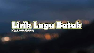 Lirik Lagu Batak, Henry Manullang |Please, Sahali Nai Pe Ito