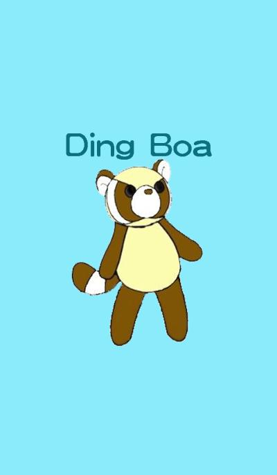 Ding Boa-Raccoo-Blue