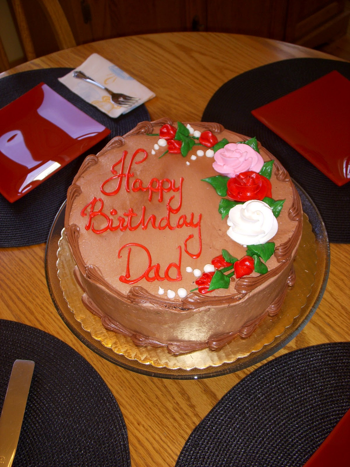 Continental Birthday Cake Recipe