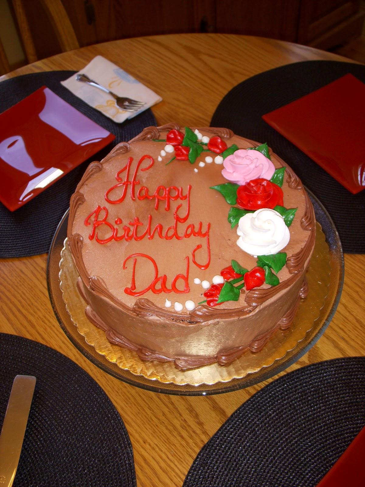 Cake Happy Birthday Dad : happy, birthday, Happy, Birthday,