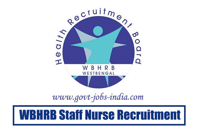 WBHRB Staff Nurse Recruitment 2020 – 9333 Staff Nurse Vacancy – Last Date 23 March 2020
