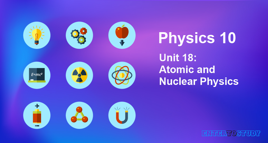 KIPS 10th Class Physics Notes Unit 18: Atomic and Nuclear Physics