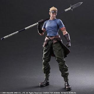 Play Arts Kai Cid y Cait Sith de Final Fantasy VII: Advent Children - Square Enix