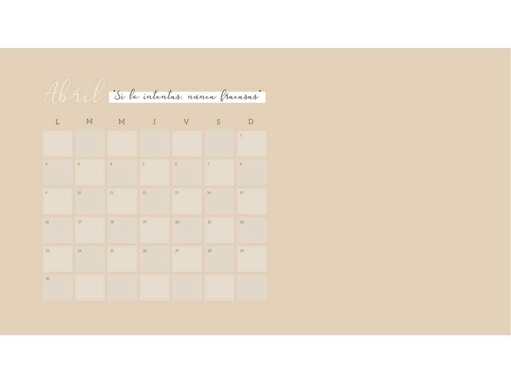 calendario wallpaper bonito descarga directa