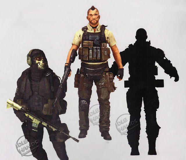 Toy fair 2018 McFarlane Call of Duty 7 inch Action Figures