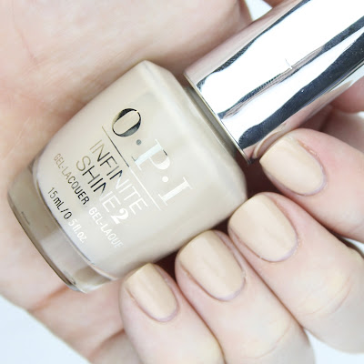 OPI Infinite Shine in Samoan Sand review swatch