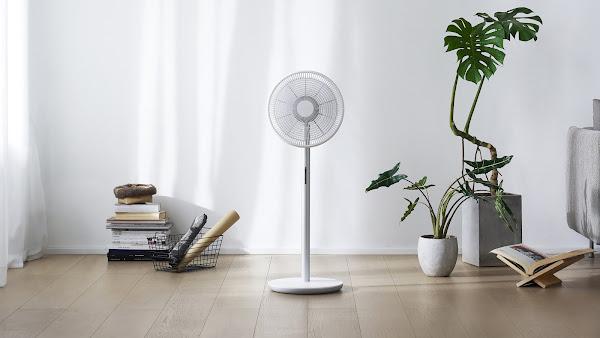 Smartmi Standing Fan 3: O ventilador inteligente e design com purificador de ar que já se pode comprar em Portugal