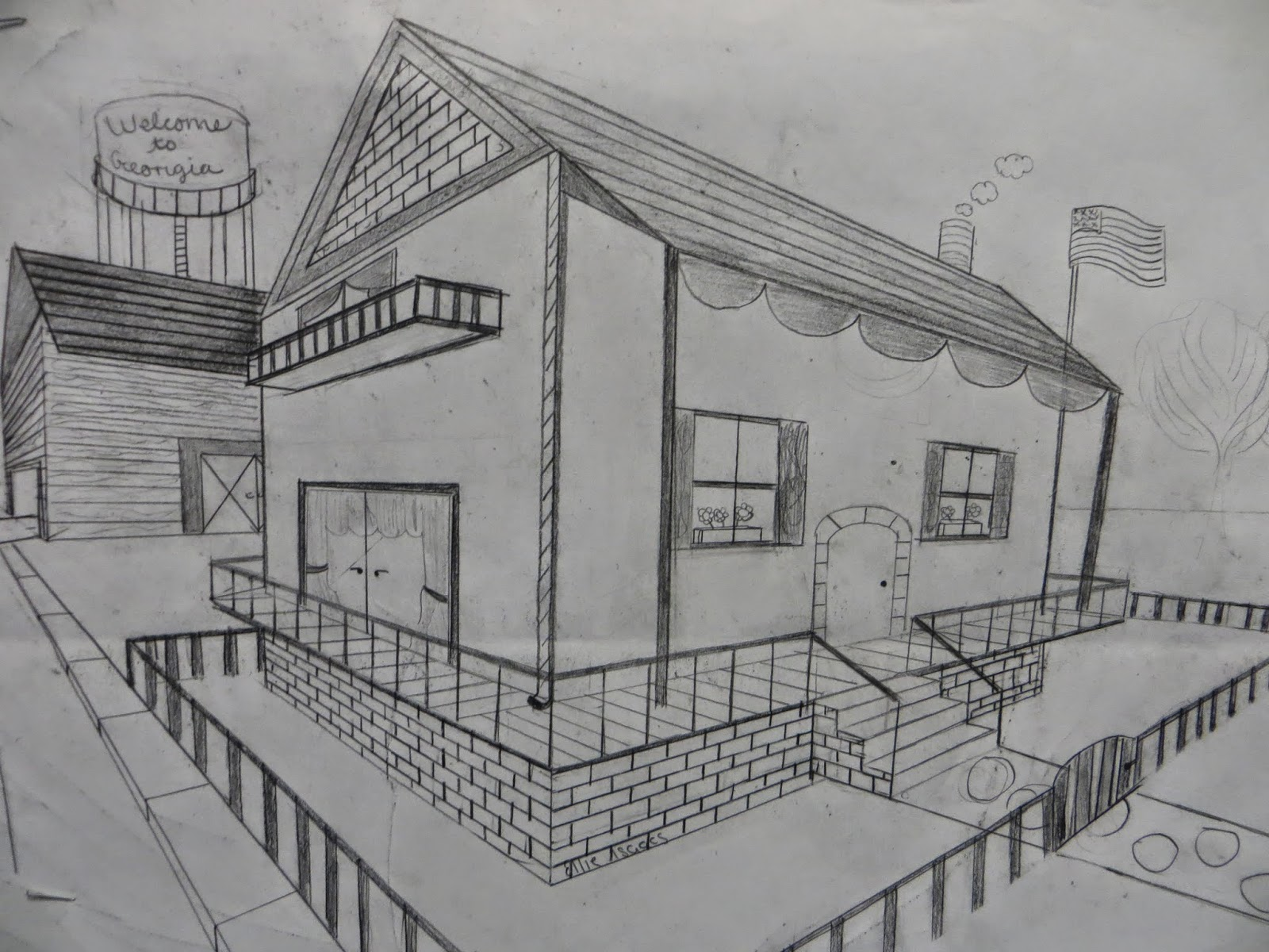 Shana S Art Room Two Point Perspective