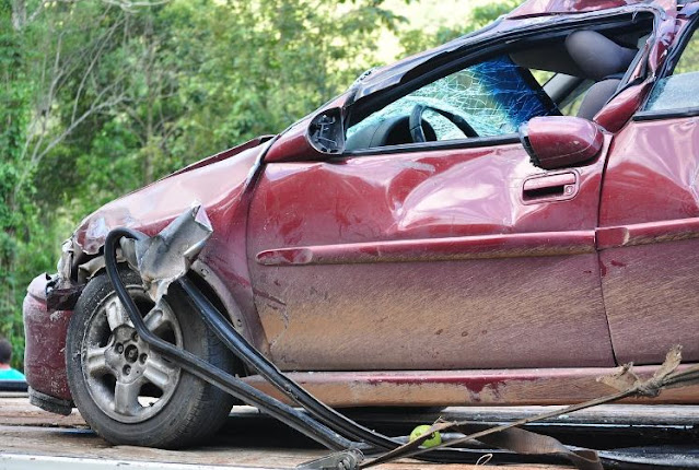 what happens if you crash company car accident vehicle insurance