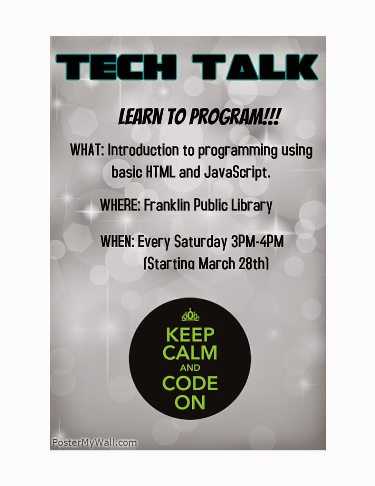 Tech Talk: Learn to Program