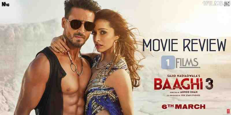 Baaghi 3 Movie Review Poster