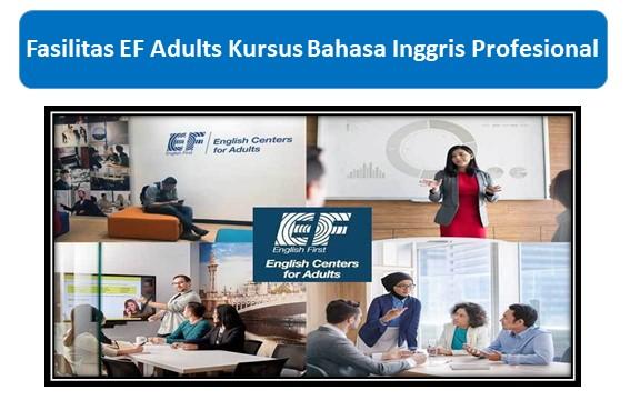 Fasilitas EF Adults Kursus Bahasa Inggris Profesional