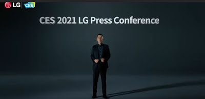 CES 2021, Press Conference, LG, Smartphone