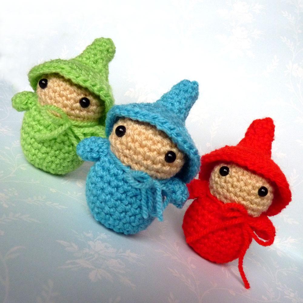 Free Christmas Gnome Crochet Patterns • Free Crochet Tutorials | 1000x1000