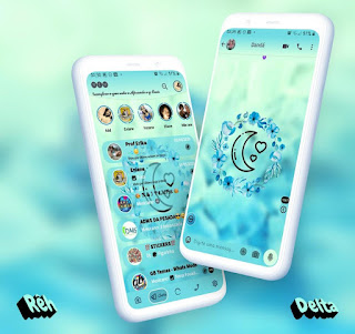 Moon Theme For YOWhatsApp & Delta WhatsApp By Reh