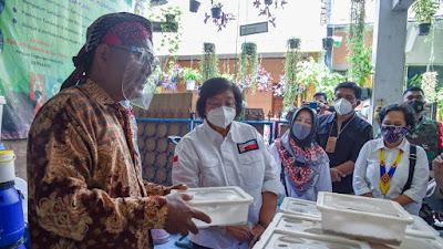 Kunker di Kota Tangerang, Menteri LHK Apresiasi Penerapan Kampung Iklim
