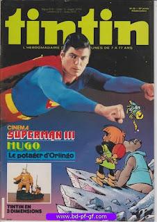 Tintin-numéro 31, année 38, 1983, Hugo