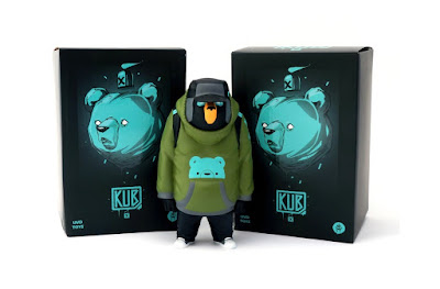 KUB Olive Edition Vinyl Figure by Mike Fudge x UVD Toys
