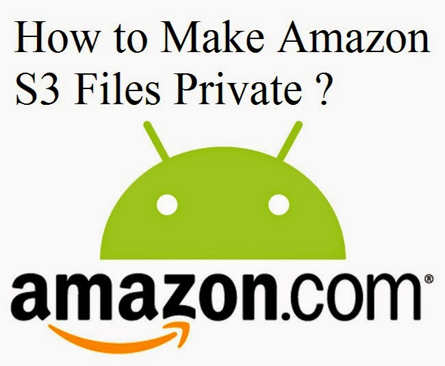 How to Make Amazon S3 Files Private : eAskme