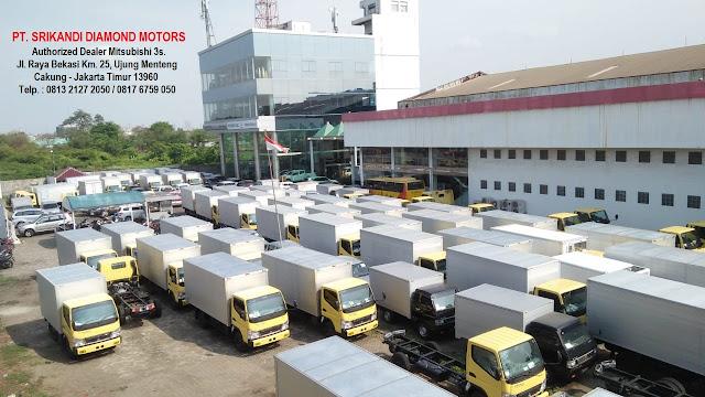 jual mobil mitsubishi - box - bak - tangki - dump truck - bus pariwisata - 2018