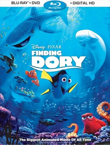 Finding Dory 2016 Dual Audio ORG Hindi 720p BluRay 750mb