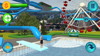 Game Water Slide Downhill Rush Mod Apk