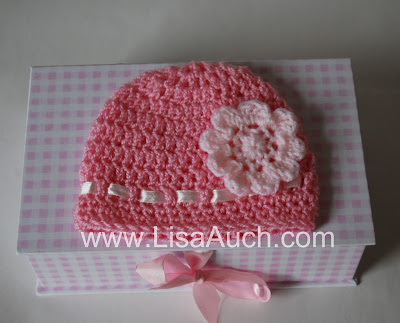 How to crochet a Easy baby hat with Free crochet Baby hat pattern