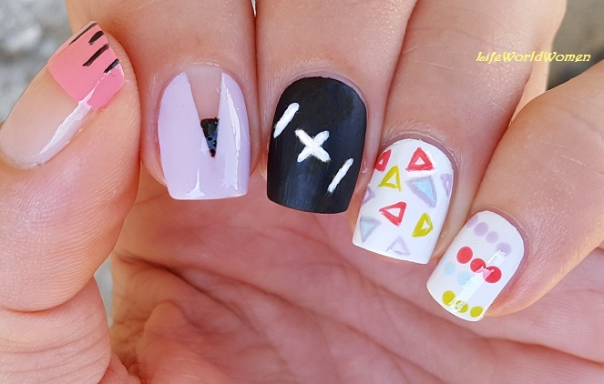 Life World Women: Five Easy Back To School Nail Art Ideas