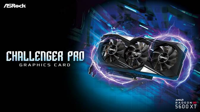 ASRock Expands Graphics Card Lineup with New Radeon RX 5600 XT Challenger Pro 6G OC