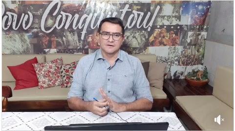 Prefeito Olivânio faz live e anuncia abertura parcial da feira livre de Picuí