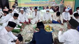 Perkuat Literasi Agama, KKN-IK IAIN Kudus Berpartisipasi Ikut Sedekah Bumi dan Doa Bersama