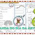 ATIVIDADES DE ALFABETIZAÇÃO: DIA DA ÁRVORE - EDUCAÇÃO INFANTIL/ 1º ANO