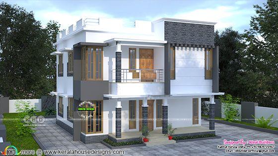Modern house plan 2000 square feet