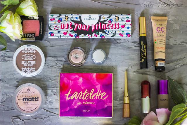 Повседневный макияж бюджетной косметикой: использованная косметика