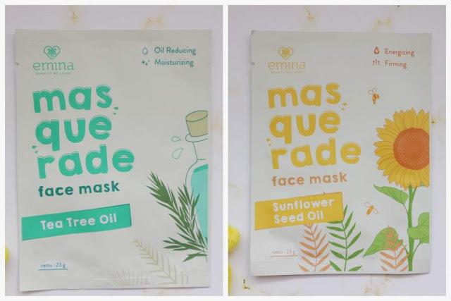 Review Emina Masquerade Face Mask