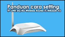 Panduan cara setting TP-LINK 3G/4G Wireless Router TL-MR3220 V2