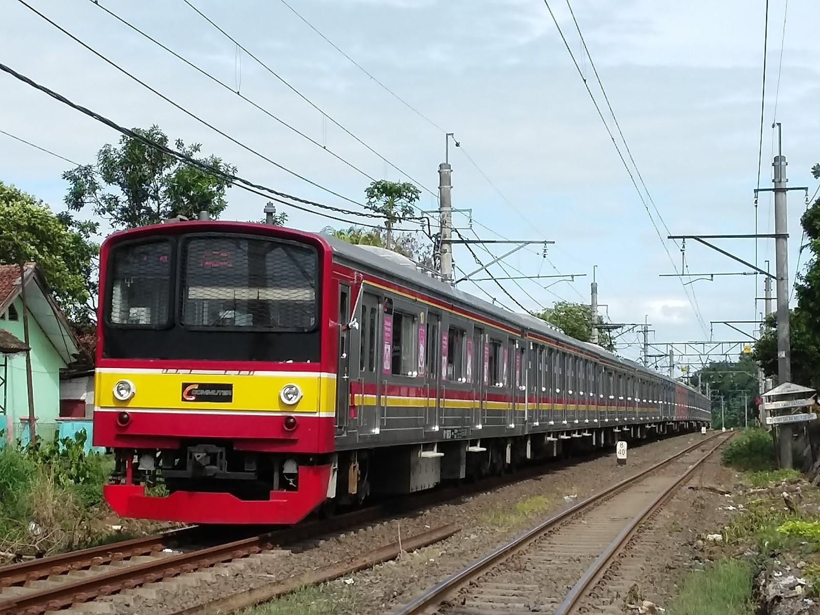ilustrasi gaji masinis kereta api PT KAI