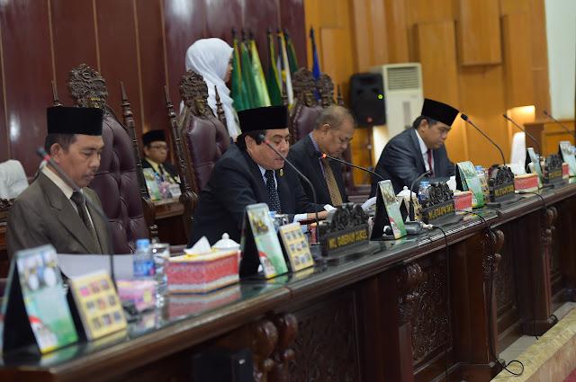 Wagub Sumsel Jawaban Pemandangan Fraksi-Fraksi DPRD