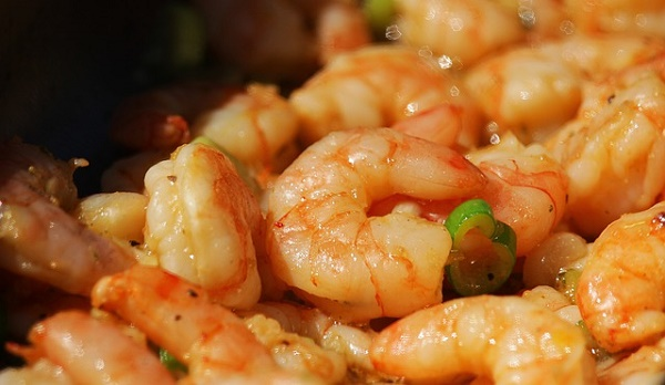 how many calories in shrimp