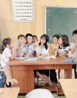 Cô giáo tiểu học nhận nhiều lời khen khi đóng vai chị Hằng