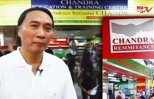 Mantan TKI Wahyudi Chandra Sukses punya banyak restoran dan minimarket di Hong Kong