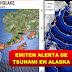 Emiten alerta de tsunami en Alaska tras un terremoto de 7,5 en el Pacífico
