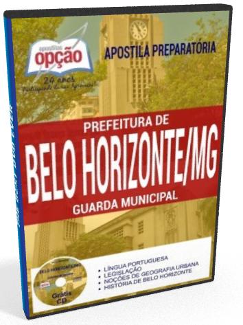 Apostila Concurso GMBH - Guarda Municipal de BH