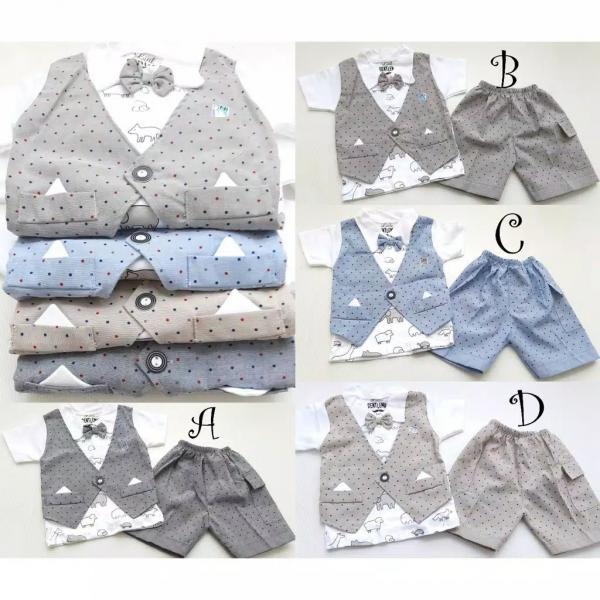 Setelan Baju Anak Branded Jas FA-194