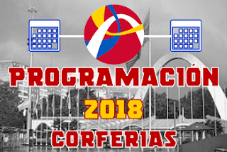 CALENDARIO CORFERIAS 2018
